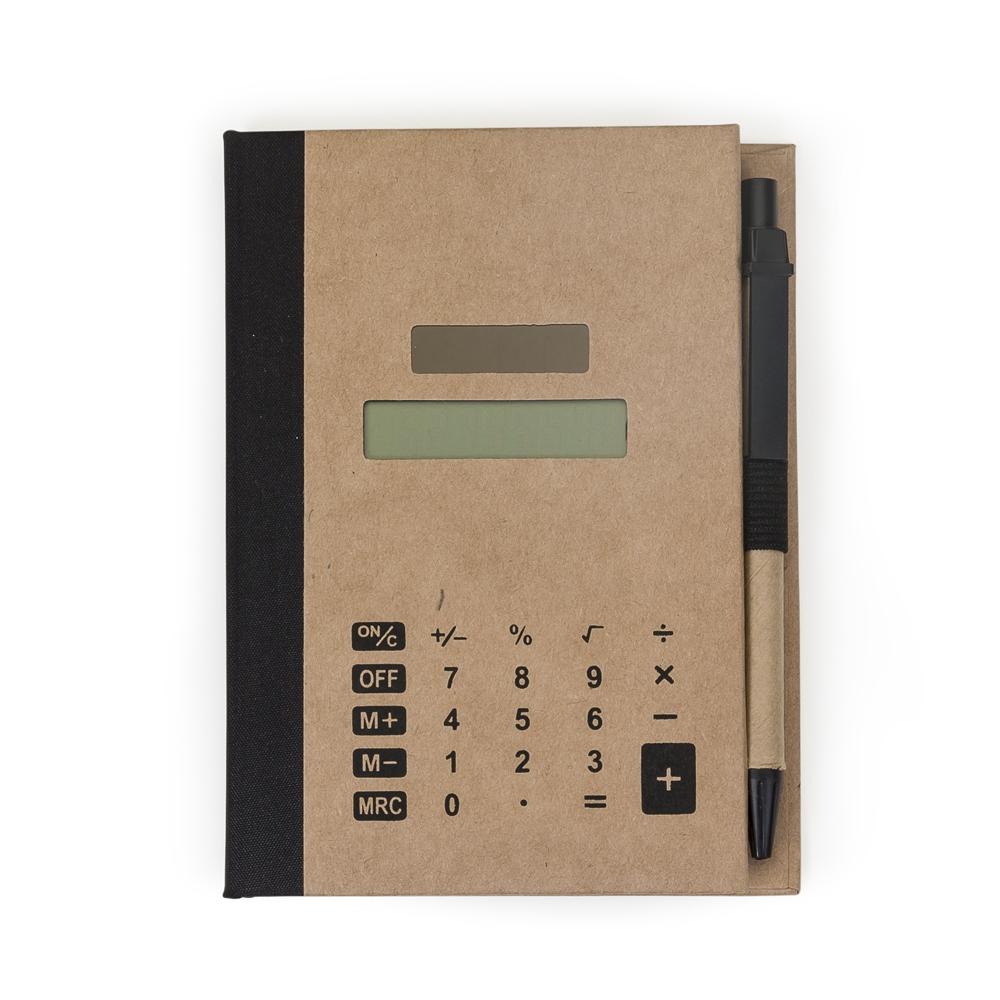 Bloco de Anotações com Post-it e Calculadora 12737 - Blocos e Cadernetas - Gráfica e Brindes Ipê - Patos de Minas - MG