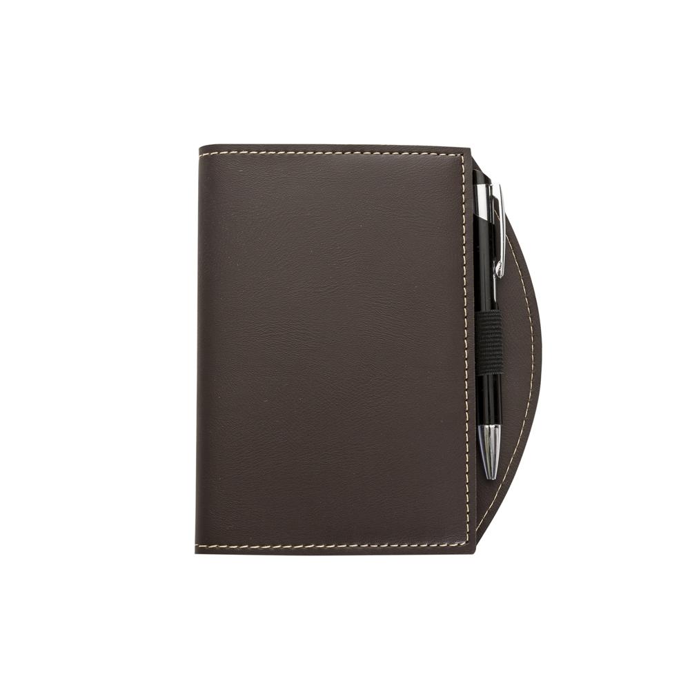 Caderneta tipo Moleskine 13131 - Blocos e Cadernetas - Gráfica e Brindes Ipê - Patos de Minas - MG