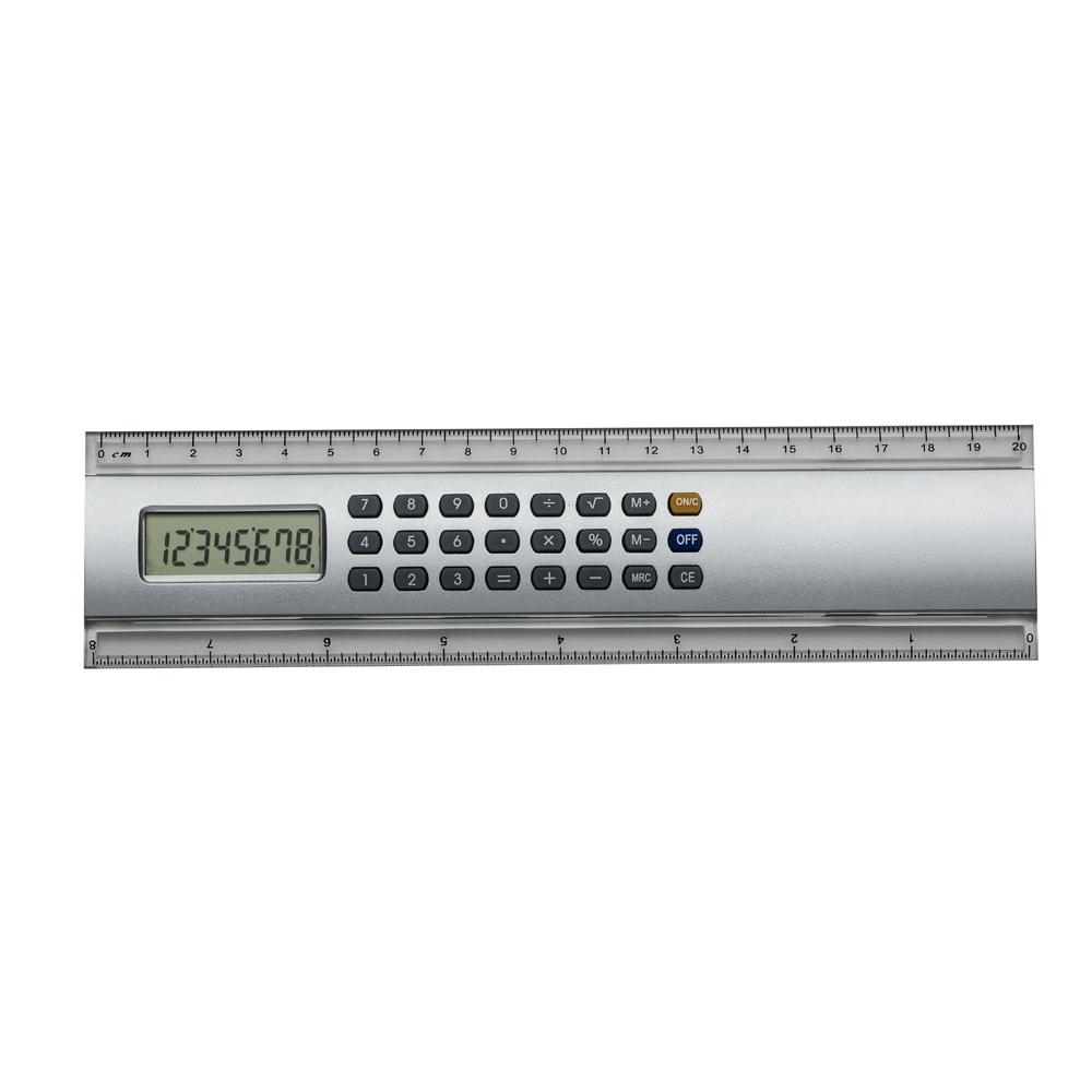 Régua 20cm com Calculadora 146 - Brindes - Gráfica e Brindes Ipê - Patos de Minas - MG
