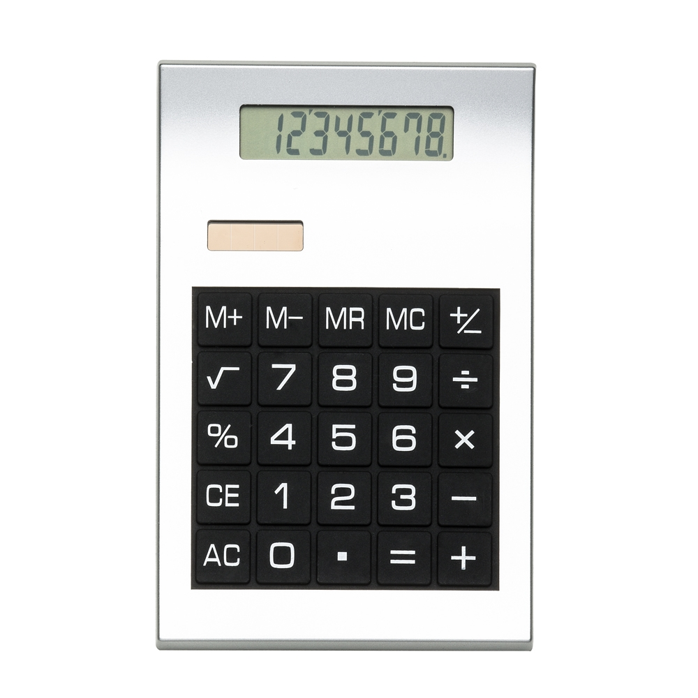 Calculadora 8 Dígitos 2732 - Brindes - Gráfica e Brindes Ipê - Patos de Minas - MG