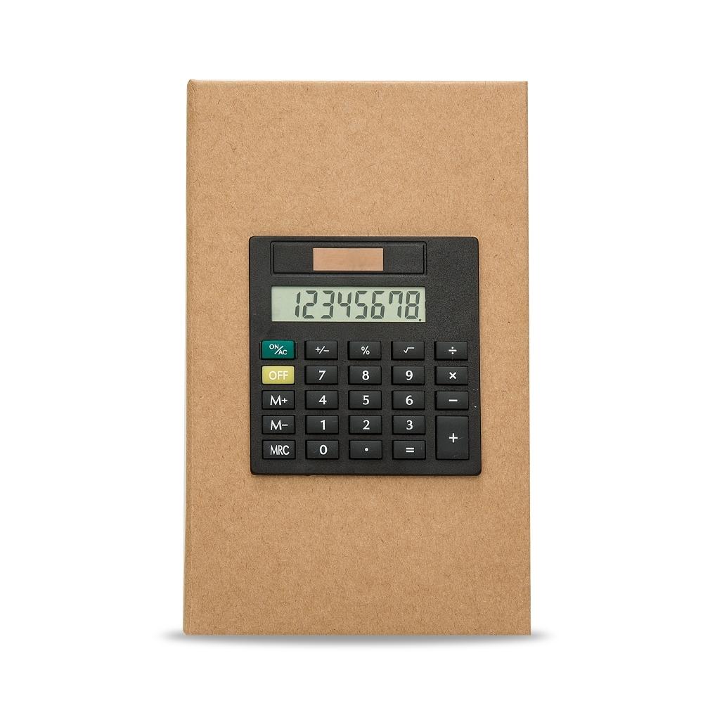 Bloco de Anotações com Calculadora 12520 - Brindes - Gráfica e Brindes Ipê - Patos de Minas - MG