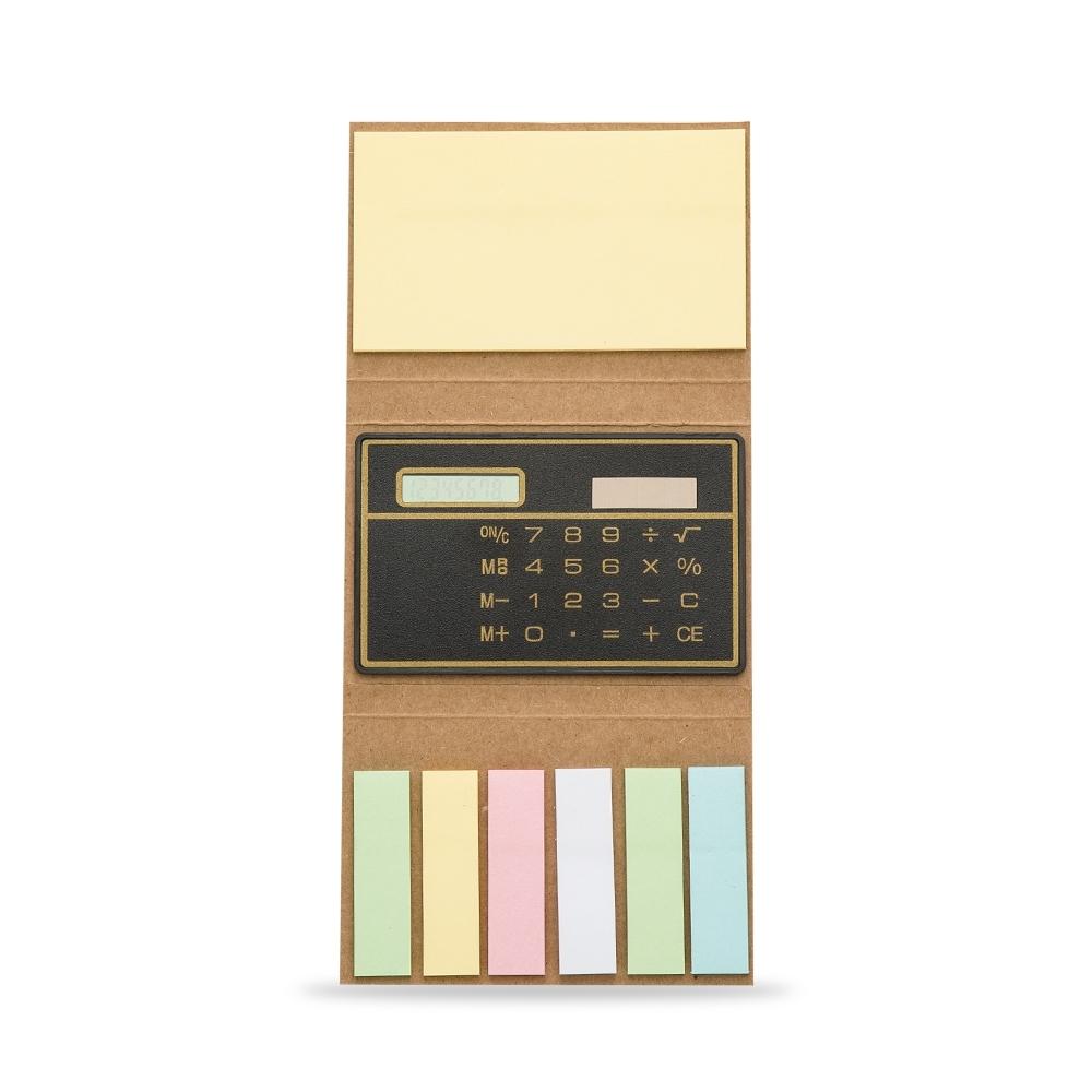 Bloco de Anotações com Calculadora P@1600 - Blocos e Cadernetas - Gráfica e Brindes Ipê - Patos de Minas - MG