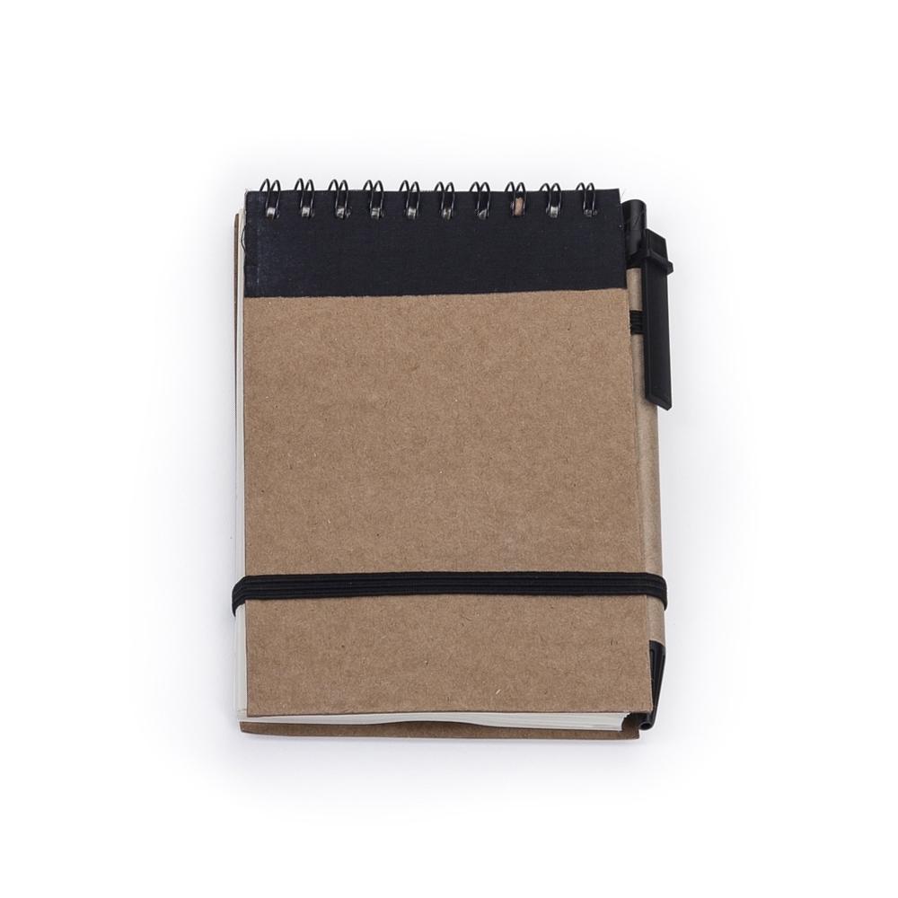 Bloco de anotações com caneta 12681 - Blocos e Cadernetas - Gráfica e Brindes Ipê - Patos de Minas - MG