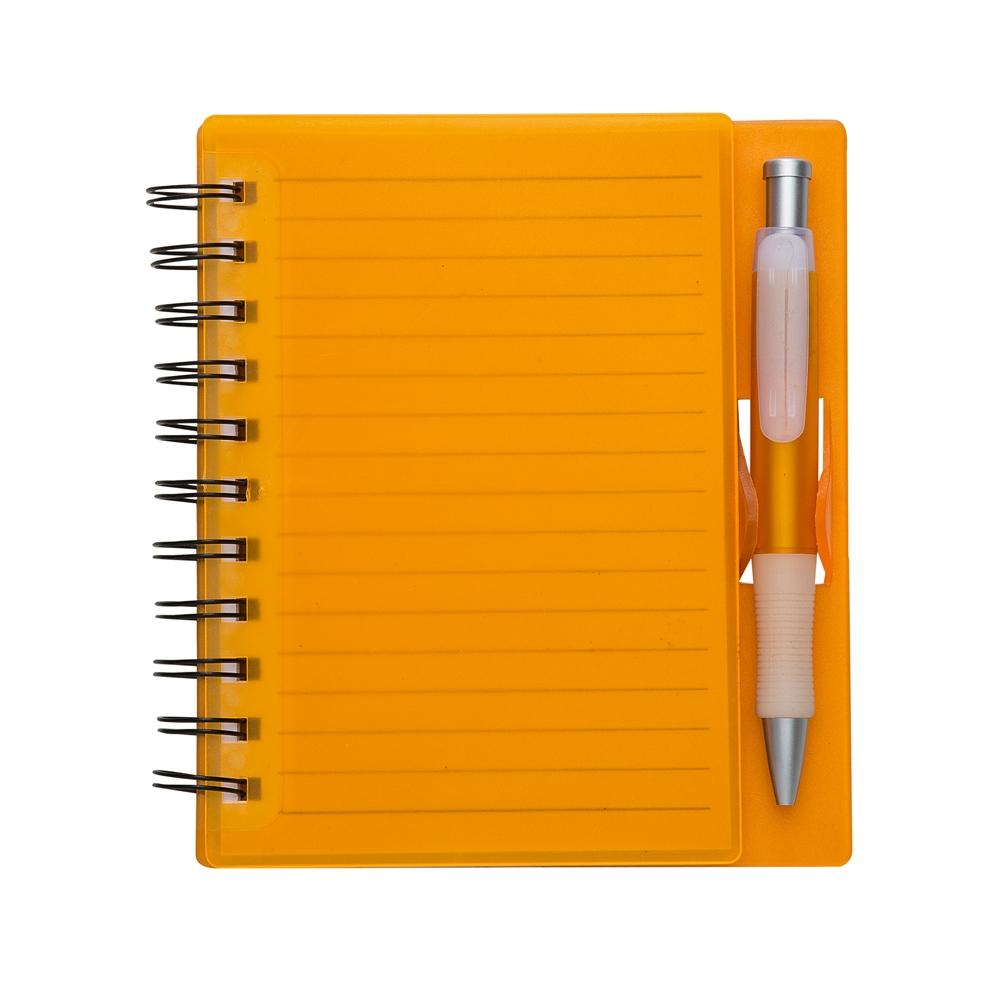 Bloco de anotações com caneta 11193 - Blocos e Cadernetas - Gráfica e Brindes Ipê - Patos de Minas - MG