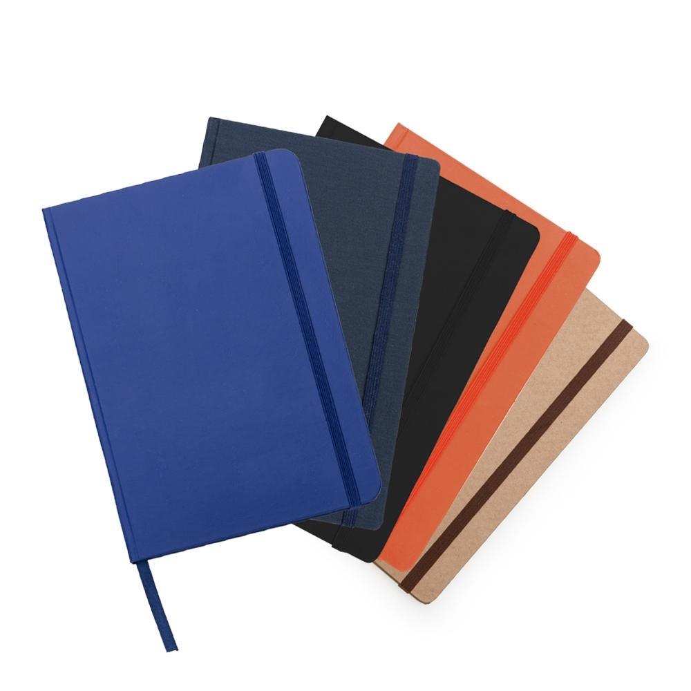 Caderneta tipo Moleskine  12537 - Blocos e Cadernetas - Gráfica e Brindes Ipê - Patos de Minas - MG