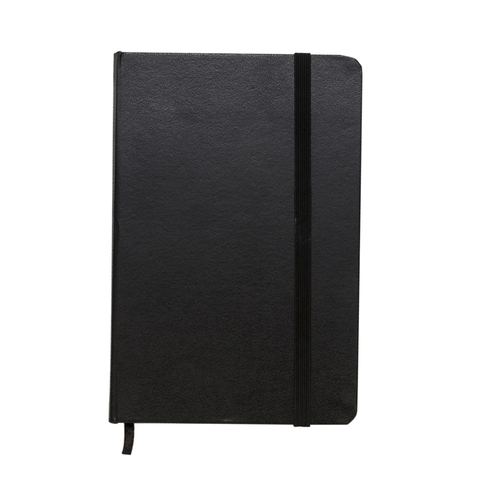 Caderneta tipo Moleskine 12974 - Blocos e Cadernetas - Gráfica e Brindes Ipê - Patos de Minas - MG
