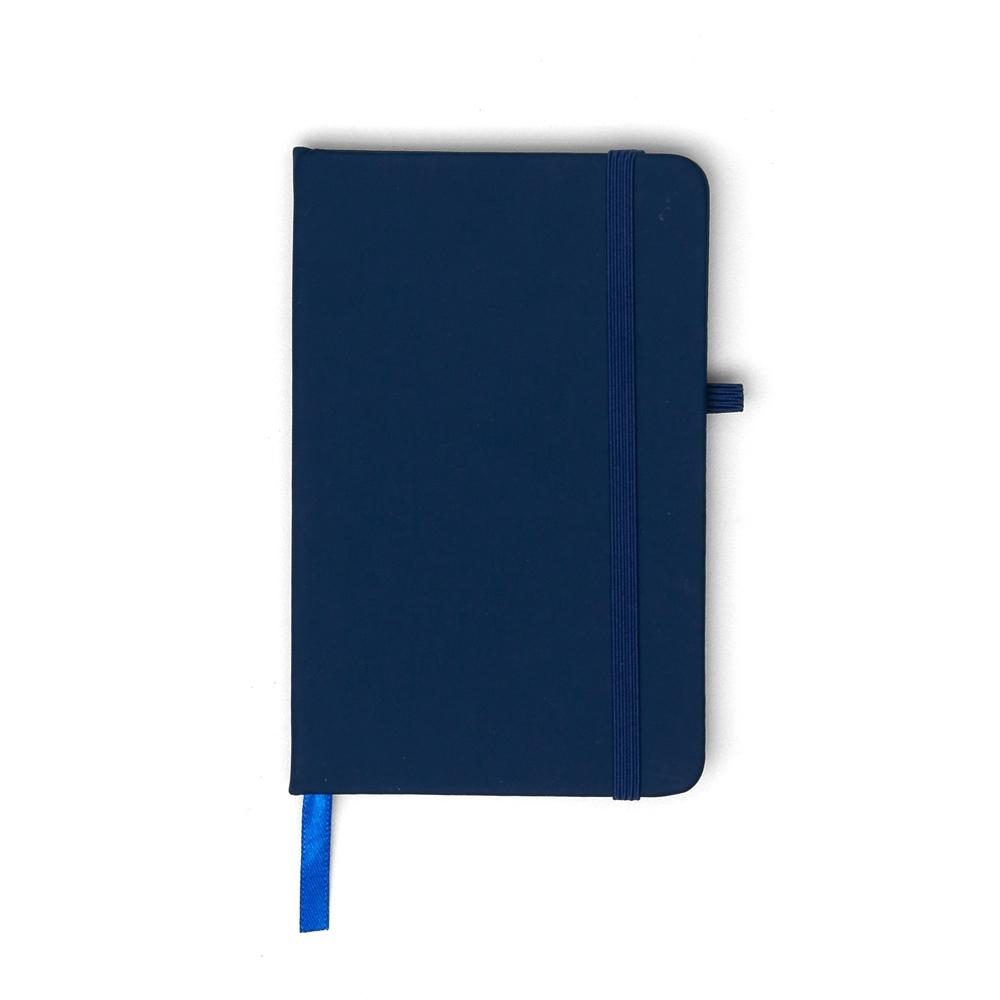 Caderneta tipo Moleskine com Porta Caneta 14091 - Blocos e Cadernetas - Gráfica e Brindes Ipê - Patos de Minas - MG