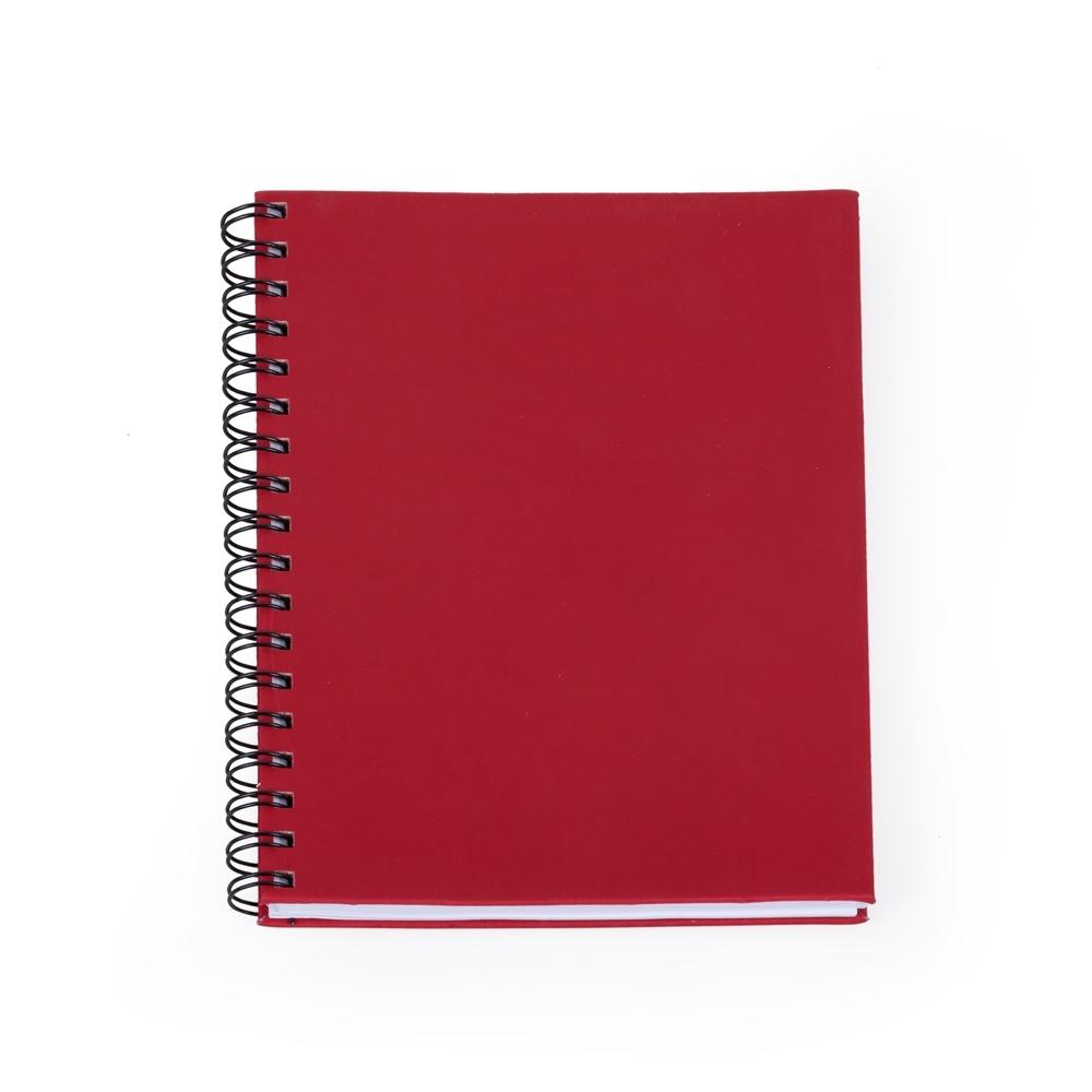 Caderno Emborrachado 13708 - Blocos e Cadernetas - Gráfica e Brindes Ipê - Patos de Minas - MG