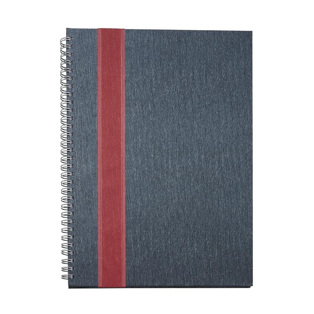 Caderno Grande com Faixa 13926 - Blocos e Cadernetas - Gráfica e Brindes Ipê - Patos de Minas - MG