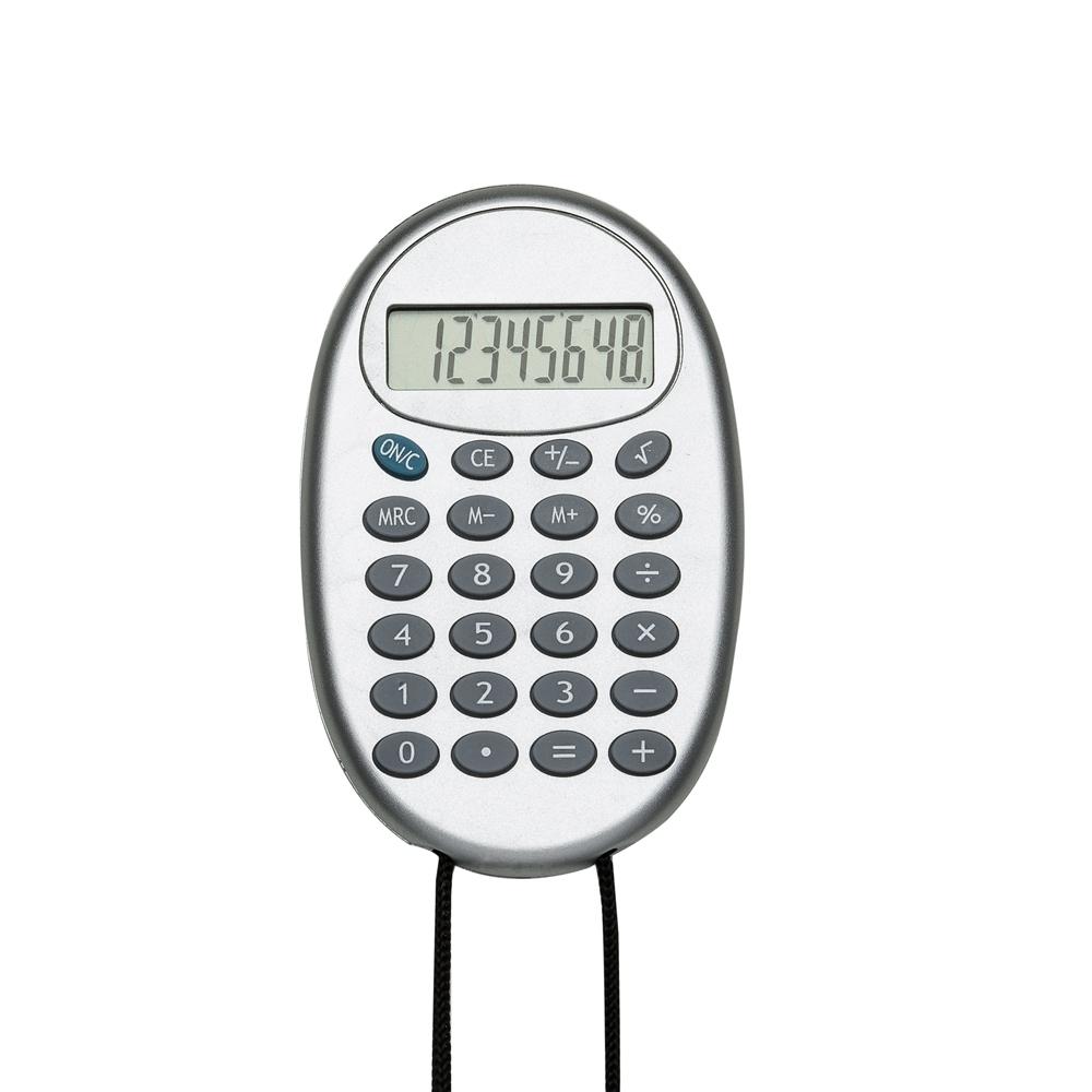 Calculadora com Cordão 2964 - Brindes - Gráfica e Brindes Ipê - Patos de Minas - MG