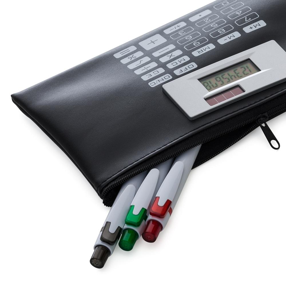 Carteira com Calculadora  12024 - Calculadoras - Gráfica e Brindes Ipê - Patos de Minas - MG