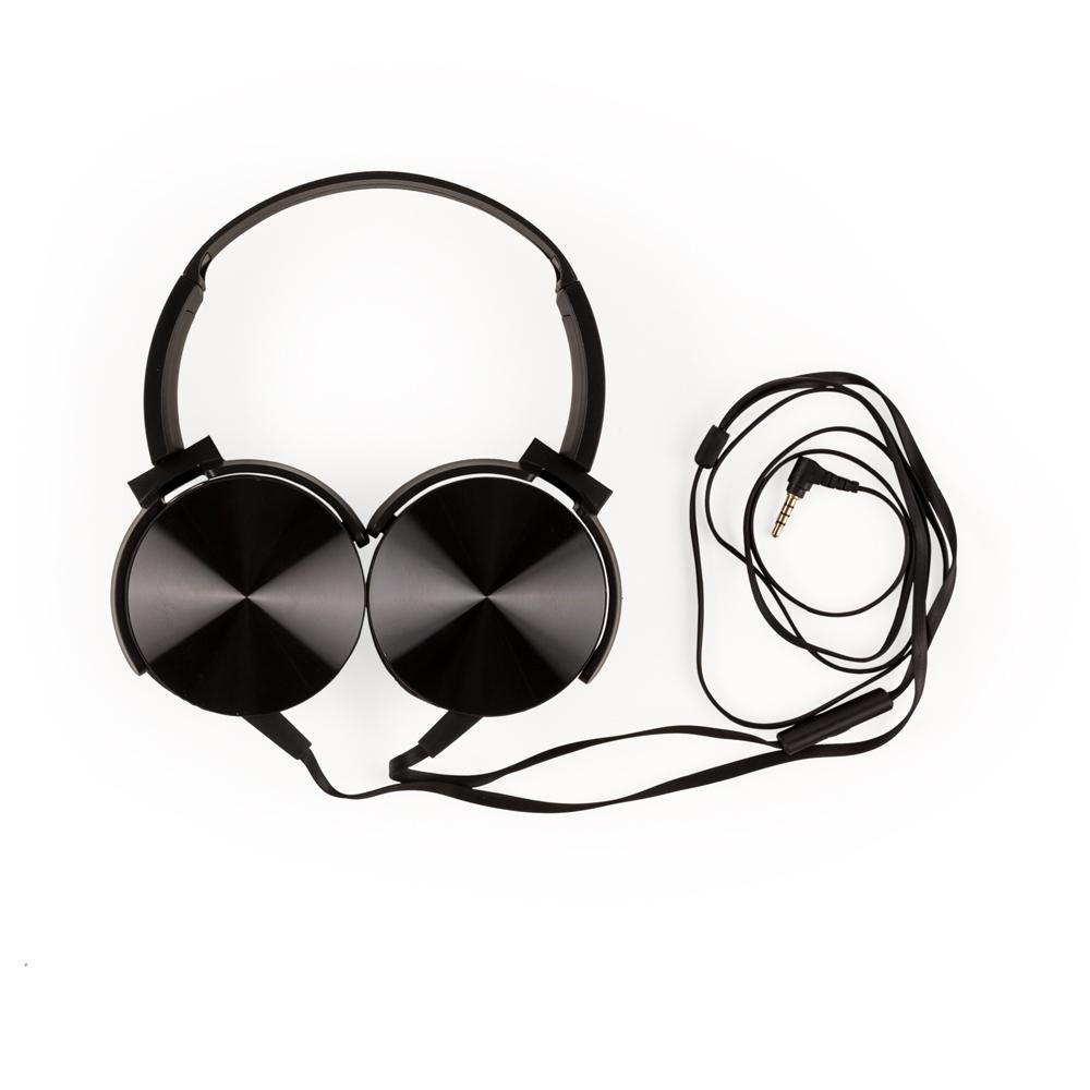 Headfone Bass Estéreo com Microfone 2065 - Fones de Ouvido - Gráfica e Brindes Ipê - Patos de Minas - MG