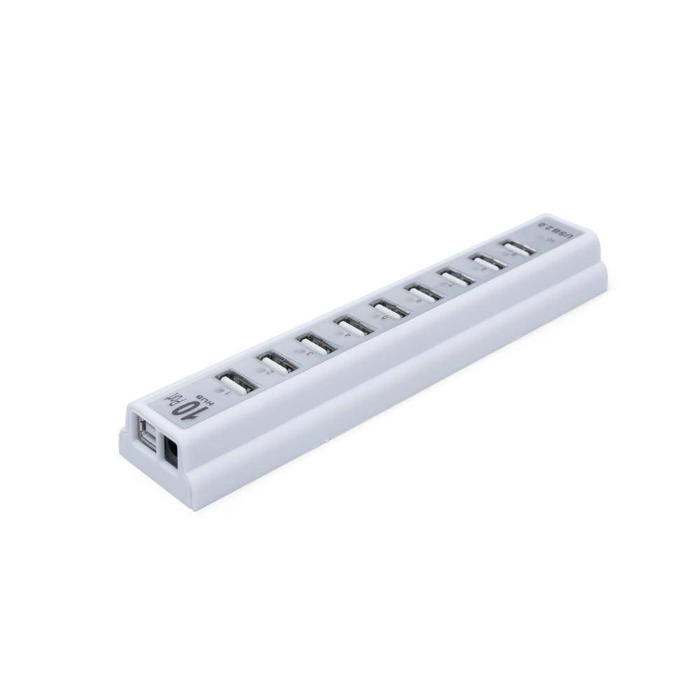 Hub USB com 10 Entradas  13878 - Informática e Telefonia - Gráfica e Brindes Ipê - Patos de Minas - MG