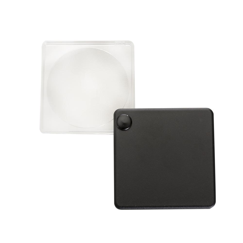 Lupa com capa plástica preto 11937 - Brindes - Gráfica e Brindes Ipê - Patos de Minas - MG
