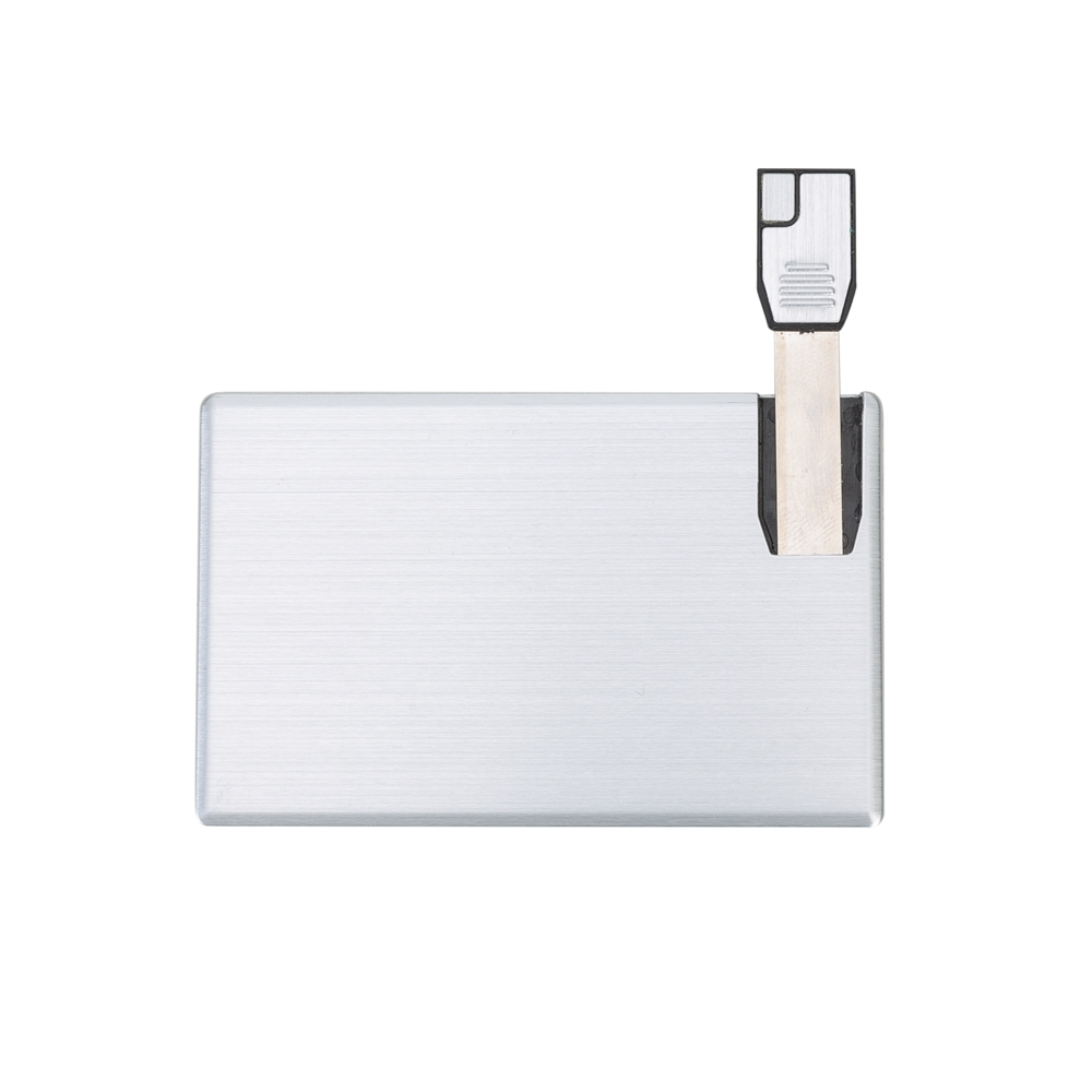Pen Card 4GB Alumínio 051-4GB - Pen Drives - Gráfica e Brindes Ipê - Patos de Minas - MG