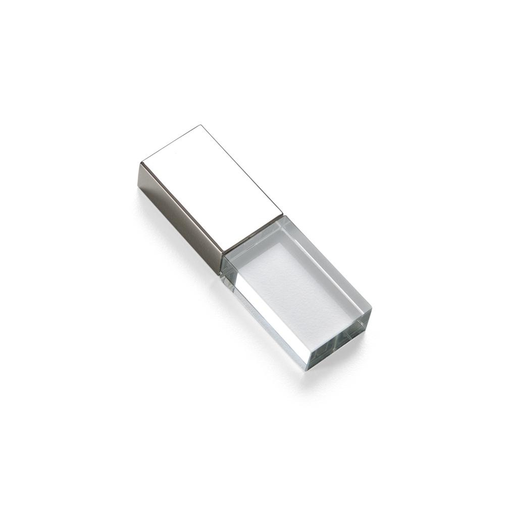 Pen Drive Vidro 4GB 050-4GB - Brindes - Gráfica e Brindes Ipê - Patos de Minas - MG