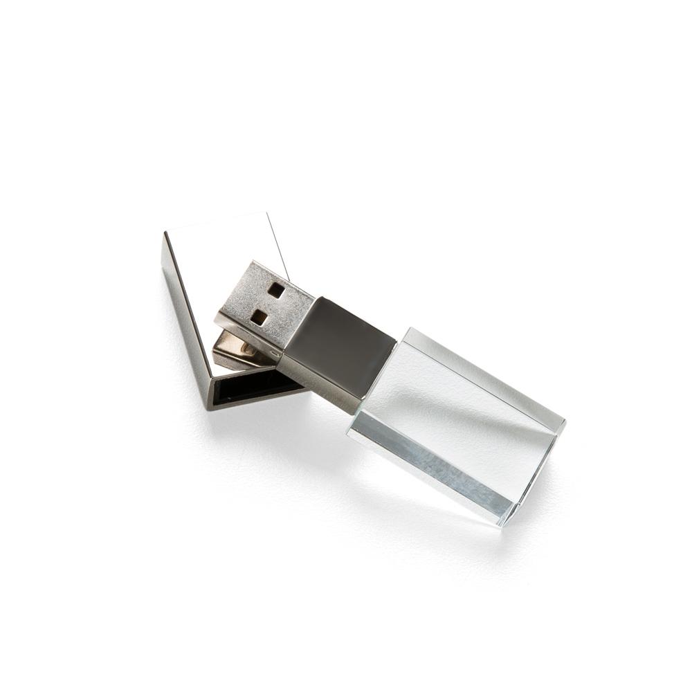 Pen Drive Vidro 4GB  050-4GB - Pen Drives - Gráfica e Brindes Ipê - Patos de Minas - MG