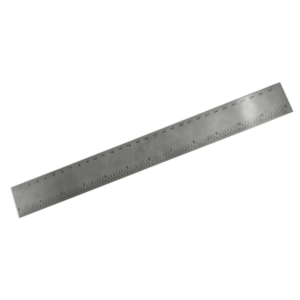 Régua 30cm Inox 13120 - Brindes - Gráfica e Brindes Ipê - Patos de Minas - MG