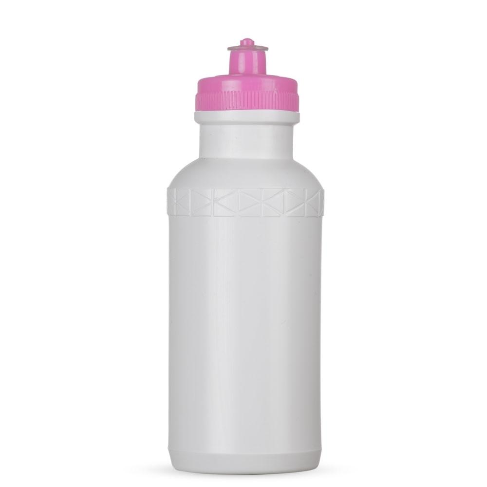 Squeeze 500ml Plástico 7092-BCO - Squeezes e Garrafas - Gráfica e Brindes Ipê - Patos de Minas - MG